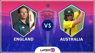 ENG vs AUS, ICC CWC 2019 Semi-Final: इंग्लंड संघाला विजयासाठी 224 धावांचे लक्ष, स्टिव्ह स्मिथ याची एकाकी झुंज