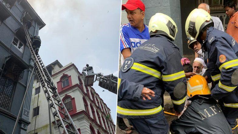मुंबई: कुलाबा येथील चर्चिल चेंबर इमारतीच्या तिस-या मजल्यावर भीषण आग, एकाचा मृत्यू