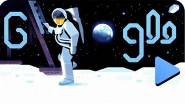 अपोलो 11 अंतराळ मोहिम: मानवाने चंद्रावर पहिले पाऊल ठेवले त्याला 50 वर्षे पूर्ण, गुगल ने बनवले खास डूडल