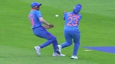 IND vs SL सामन्यात हार्दिक पंड्या आणि कुलदीप यादव यांच्या असमन्वयामुळे Netizens संतापले, म्हणाले 'गली क्रिकेट खेळताहात का'