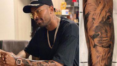 टीम इंडियाचा अष्टपैलू हार्दिक पंड्या Lion King च्या प्रेमात, हातावर गोंदवला खास टॅटू; चाहत्यांनी दिली दाद