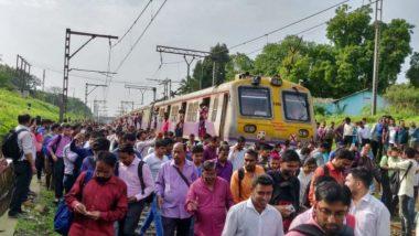 Mumbai Central Railway: मध्य रेल्वेची वाहतूक विस्कळीत; डोंबिवली-ठाकुर्ली स्थानकादरम्यान पाटणा एक्स्प्रेसचे इंजिन बंद पडल्याने प्रवाशांचे हाल!