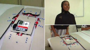 12 वर्षाच्या विद्यार्थिनीने बनवला कपडे घडी करणारा रोबोट, 3 सेकेंदात उरकते काम (Watch Video)