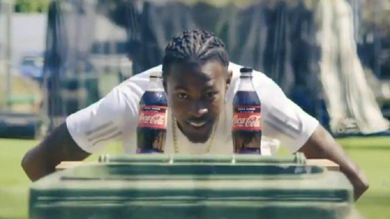 जोफ्रा आर्चर ने सामाजिक संदेश देत पूर्ण केले Bottle Cap Challenge, पहा (Video)