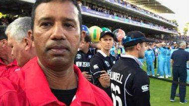 World Cup Final अंपायर कुमार धर्मसेनांनी स्वीकारली ओव्हर थ्रो निर्णयाची चूक, पण माफी मागण्यास दिला नकार