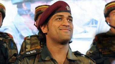 एम एस धोनी घेणार पॅराशूट रेजिमेंट सोबत ट्रेनिंग, आर्मी प्रमुख बिपीन रावत यांनी दाखवला हिरवा कंदील, जाणून घ्या सविस्तर