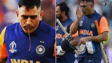 IND vs ENG मॅचमध्ये बोटातून रक्त निघत होते तरीही टीम इंडिया ला विजय मिळवून देण्याच्या प्रयत्नात होता एम एस धोनी, Netizens ने केली प्रशंसा (View Photos)