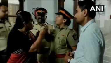Videos: काँग्रेस कार्याध्यक्ष यशोमती ठाकूर यांचा पोलिसांसोबत राडा; मुंबईच्या सेंट जॉर्ज हॉस्पिटल येथील घटना