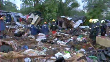 Malad Wall Collapse: मालाड दुर्घटनेतील मृतांची संख्या 27 वर पोहचली; निकृष्ट दर्जाच्या बांधकामामुळे घडला अपघात
