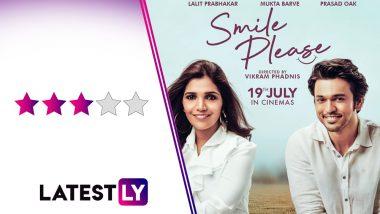 Smile Please Movie Review: आयुष्यात कोणीतरी 'स्माईल प्लीज' म्हणणारी व्यक्ती जरुर हवी!
