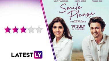 Smile Please Movie Review: आयुष्यात कोणीतरी 'स्माईल प्लिज' म्हणणारी व्यक्ती जरुर हवी!