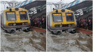 मुंबई: रेल्वेच्या तिन्ही मार्गांवरील वाहतूक विस्कळीत, गाड्या धावतायत 25 ते 30 मिनिटं उशिरांनी, दिवसभरात लोकलच्या १८३ फेऱ्या रद्द