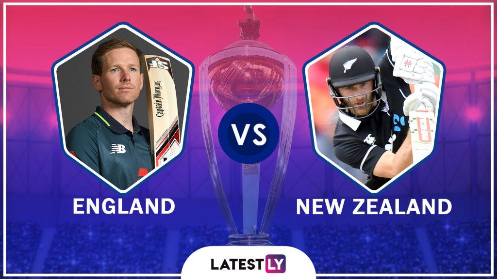 ENG vs NZ ICC World Cup 2019 Final: विश्वचषक जेतेपदासाठी न्यूझीलंड कडून इंग्लंडला 242 धावांचे लक्ष