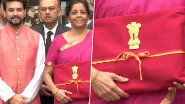 Budget 2019: निर्मला सीतारमण यांनी अर्थसंकल्पातील 159 वर्ष जूनी परंपरा मोडली,  लेदर बॅग ऐवजी  लाल कपड्यातून आणली कागदपत्रं; आर्थिक सल्लागार के. सुब्रम्हणम यांनी केला 'खास'  खुलासा