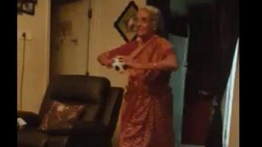 जसप्रीत बुमराहच्या गोलंदाजीवर आजीबाई फिदा; बॉलिंग आणि रनअप चे केले अनुसरण अनुकरण, पहा (Video)