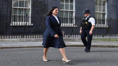 Priti Patel बनल्या ब्रिटनच्या मंत्रिमंडळात भारतीय वंशाच्या पहिल्या गृहमंत्री