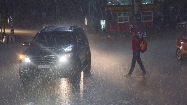 मुंबई, ठाणे येथे पावसाला सुरुवात, पुढील 24 तासांत अतिवृष्टीची शक्यता- हवामान खात्याचा अंदाज