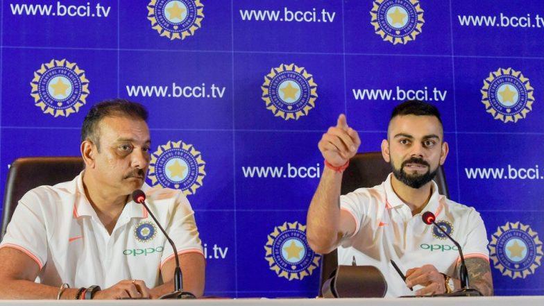 टीम इंडियाच्या मुख्य प्रशिक्षकपदासाठी Virat Kohli याची रवी शास्त्री यांना पसंती; हर्षा भोगले आणि आकाश चोप्रा यांनी दिल्या हटके प्रतिक्रिया