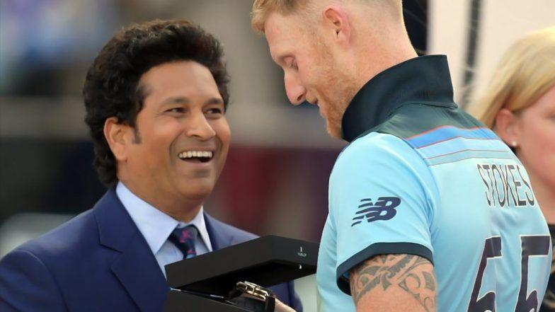 Eng vs NZ, Cricket World Cup Final: बेन स्टोक्स आणि सचिन तेंडूलकर वरील ICC च्या 'त्या' ट्विटवर नेटकऱ्यांनी व्यक्त केली नाराजी