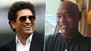 Video: सचिन तेंडुलकर नेविनोद कांबळी ला दिले चॅलेंज, म्हणाला एका आठवड्यात 'हे' करून दाखव