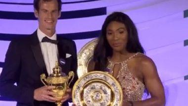 Wimbledon 2019: सेरेना विल्यम्स, अँडी मरे ची जोडी जमली; माजी विंबलडन विजेते मिश्र-दुहेरी एकत्र झळकणार