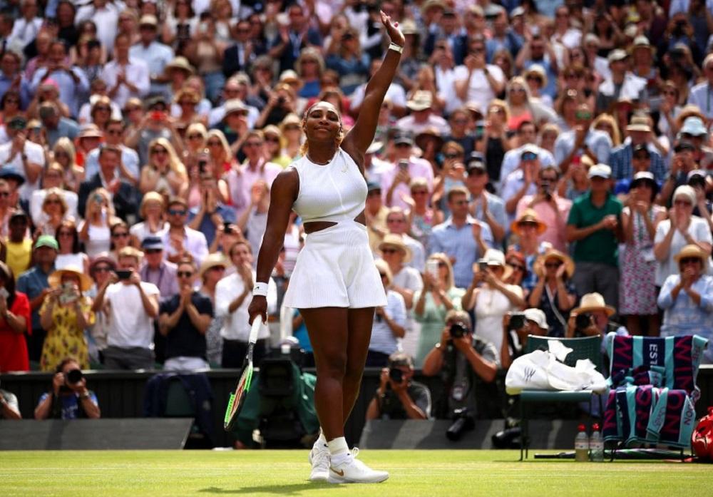 Wimbledon 2019: बारबोरा स्ट्राइकोवाचा दाणून पराभव करत सेरेना विलियम्स विंबलडनच्या फायनलमध्ये, आता लढत सिमोना हालेपशी