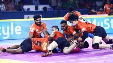 Pro Kabaddi League 2019: स्वतःच्या मातीत मुंबईचा पराभव; U Mumba वर Bengaluru Bulls चा 4 गुणांनी विजय