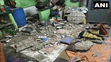 मुंबई: वांद्रे येथील भारत नगर परिसरात घराचा स्लॅब कोसळून 2 जण जखमी