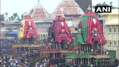 ओडिशा: लाखो भाविकांच्या उपस्थितीत पुरीत आज जगन्नाथाच्या रथयात्रेचा प्रारंभ; नृत्य, शिल्प साकारत भक्तांनी व्यक्त केला उत्साह (Photos, Videos)