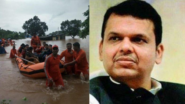 महालक्ष्मी एक्सप्रेस मध्ये अडकलेल्या प्रवाशांच्या बचावकार्यात जातीने लक्ष द्या; मुख्यमंत्री देवेंद्र फडणवीस यांचे मुख्य सचिवांना निर्देश