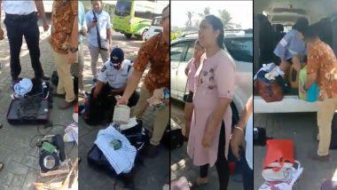 धक्कादायक! भारताची मान शरमेने खाली; बाली येथील हॉटेलमधून कुटुंबाने चोरले हँगर्स, भांड्यांसह सर्व सामान (Video)