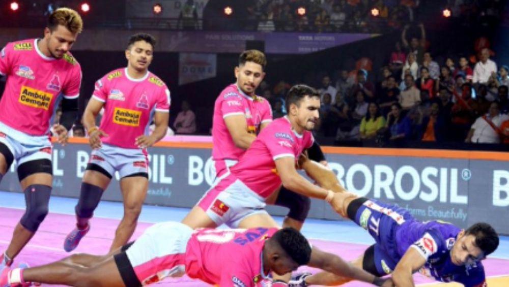 Pro Kabaddi 2019: जयपुर पिंक पैंथर्स कडून पटना पाइरेट्स यांचा 34-21 ने पराभव
