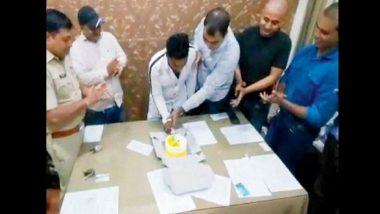 धक्कादायक! पोलीस स्टेशनमध्ये साजरा केला गेला गुन्हेगाराचा वाढदिवस; 5 पोलिसांचे निलंबन