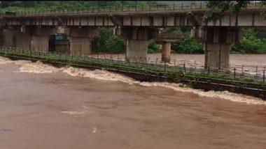 Khed: जगबुडी नदीने ओलांडली धोक्याची पातळी, मुंबई-गोवा महामार्गावरील वाहतूक विस्कळीत