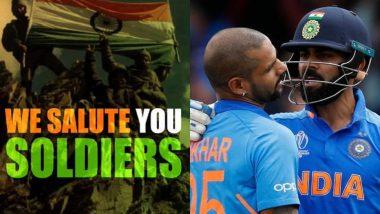 Kargil Vijay Diwas: विराट कोहली, शिखर धवन आणि अन्य खेळाडूंनी कारगिल विजय दिवसानिमित्त शहीद सैनिकांना वाहिली श्रद्धांजली