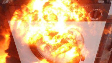 मुंबई: वॉशिंग मशीनचा स्फोट, कुटुंब थोडक्यात बचावले; वांद्रे पश्चिम येथील घटना