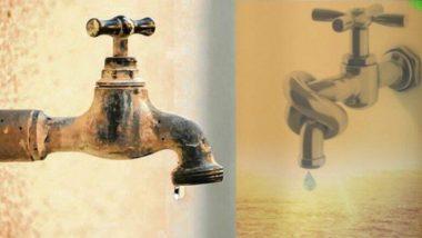 कल्याण-डोंबिवलीत आज 12 तास पाणीकपात; जलशुद्धीकरणासाठी पाणीपुरवठा ठेवण्यात येणार बंद