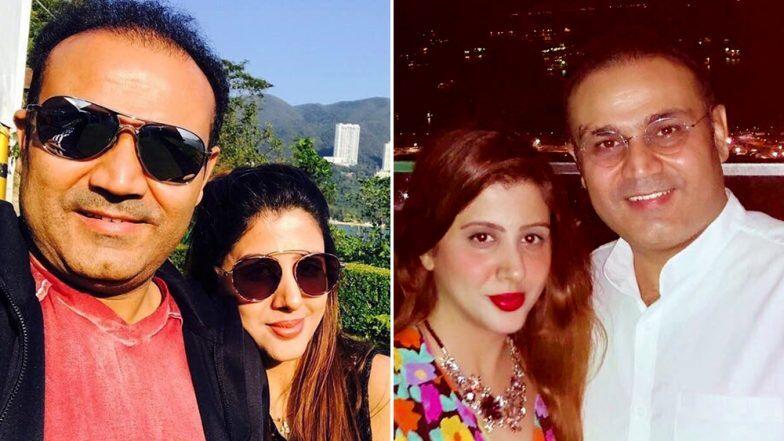 वीरेंद्र सेहवाग ची पत्नी आरती हिने बिजनेस पार्टनर विरोधात दाखल केली तक्रार; 4.5 कोटीच्या फसवणूकीचा आरोप