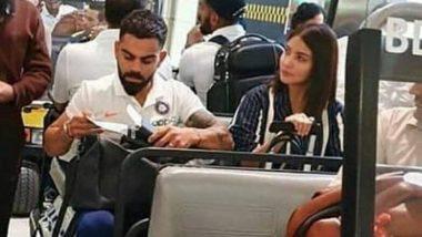 IND vs WI: वेस्ट इंडिज दौऱ्यावर विराट कोहली याला चीअर करताना दिसणार अनुष्का शर्मा, मियामी एअरपोर्ट वर झाली स्पॉट, पहा Photo