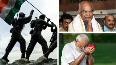 Kargil Vijay Diwas 2019: रामनाथ कोविंद, नरेंद्र मोदी यांनी कारगिल युद्धातील शहीदांना ट्विटरच्या माध्यमातून वाहिली आदरांजली