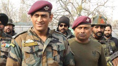 महेंद्र सिंह धोनी पुढील 2 महिन्यांसाठी क्रिकेटविश्वातून घेणार विश्रांती, पॅराशूट रेजिमेंट चे लेफ्टनंट कर्नल म्हणून सैनिकांसोबत घालवणार वेळ