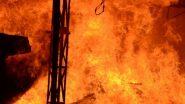 बदलापूर एमआयडीसी मधील केमिकल कंपनीत स्फोट झाल्याने लागली भीषण आग; एक जण ठार तर दोन गंभीर जखमी