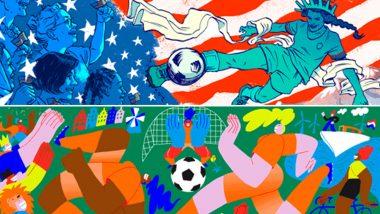 महिला वर्ल्ड कप 2019- दिवस 25 Google Doodle: FIFA Women's World Cup मधील आज होणाऱ्या अंतिम सामन्यानिमित्त गुगुलचे खास डुडल