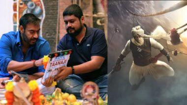 तानाजी सिनेमाच्या शुटिंगला सुरूवात; अजय देवगण तानाजी मालुसरे यांच्या मुख्य भूमिकेत