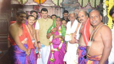 Ashadhi Ekadashi 2019: मुख्यमंत्री देवेंद्र फडणवीस यांच्यासोबत यंदा विठ्ठल -रूक्मिणीच्या महापूजेचा मान कोणत्या दांम्पत्यला मिळाला?