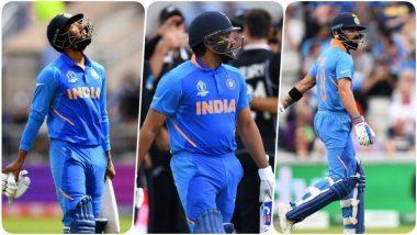 IND vs NZ, World Cup 2019 Semi-Final मॅचमध्ये रोहित शर्मा, के एल राहुल आणि विराट कोहली यांच्या नावावर नकोसा रेकॉर्ड; वाचा पूर्ण Details