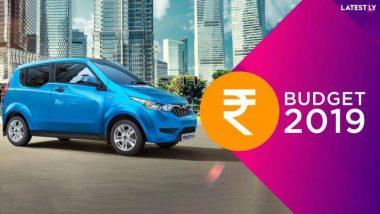 Budget 2019 Electric Vehicle: इलेक्ट्रिक कार कमी दरात खरेदी करा, सोबत करसवलत मिळवा; अर्थसंकल्प 2019 मध्ये निर्मला सीतारमण यांच्याकडून ग्राहकांना भेट