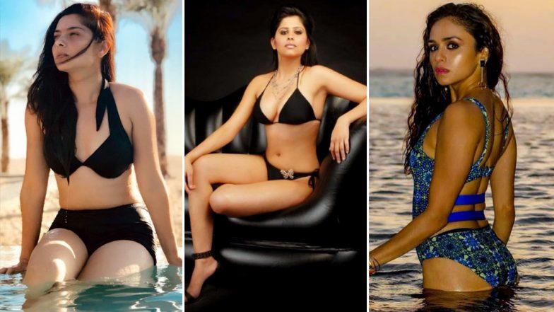 International Bikini Day: सई ताम्हणकर, अमृता खानविलकरसह  मराठमोळ्या अभिनेत्रींचा बिकीनीमधील हॉट अंदाज, पाहा फोटोज