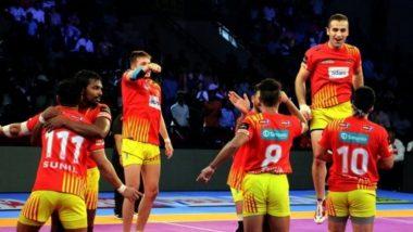 Pro Kabaddi League 2019: गुजरात फॉर्च्यून जायंट्स संघाचा यूपी योद्धा संघावर 44-19 ने एकतर्फी विजय