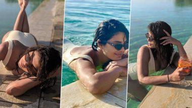 इटली मध्ये सुट्टी एन्जॉय करताना प्रियंका चोपड़ा ची स्विमिंग पूलमधील हॉट फोटो तुम्ही पाहिले का?